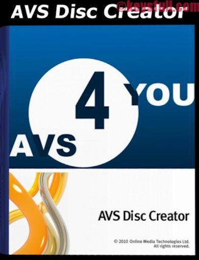 AVS Disc Creator 5.2 Activation Key, Crack Download (1)