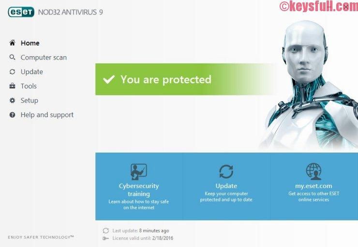 ESET NOD32 Antivirus 14.0 Activation Key Free! (x86/x64)