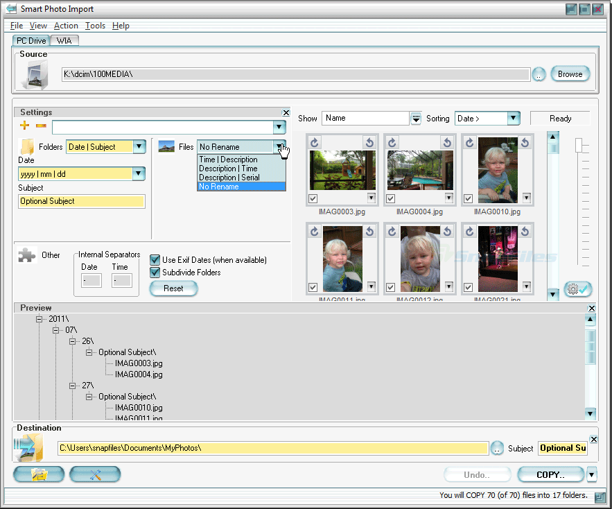 Smart Photo Import 2.3.7 Serial Key & Crack Download