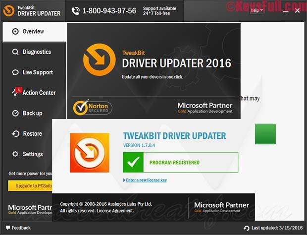 TweakBit Driver Updater 1.7.2 License Key 2016 Download (1)