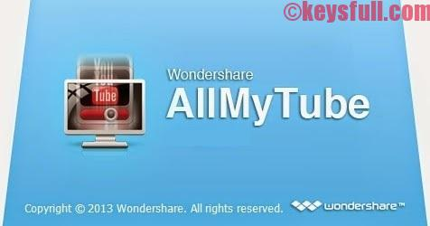 Wondershare AllMyTube 4.9.1 Crack Serial key Free!
