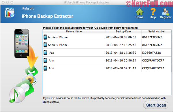 iPhone Backup Extractor 7.3.7.1428 Crack Full Keygen Download