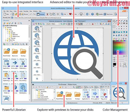 Axialis IconWorkshop 6.91 Product Key + Crack Download (1)