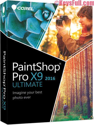 Corel PaintShop Pro X9 Ultimate Full Crack Download