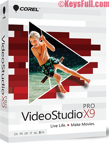 Corel VideoStudio Pro X10 Full Crack, Serial Number