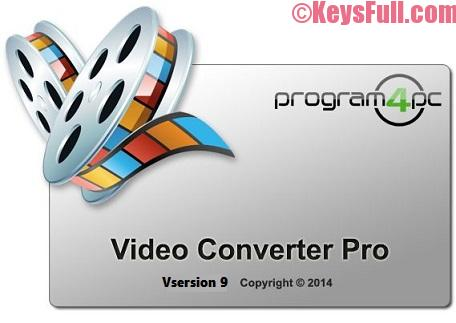 Program4pc Video Converter Pro 9.1.3 Activation Key + Crack