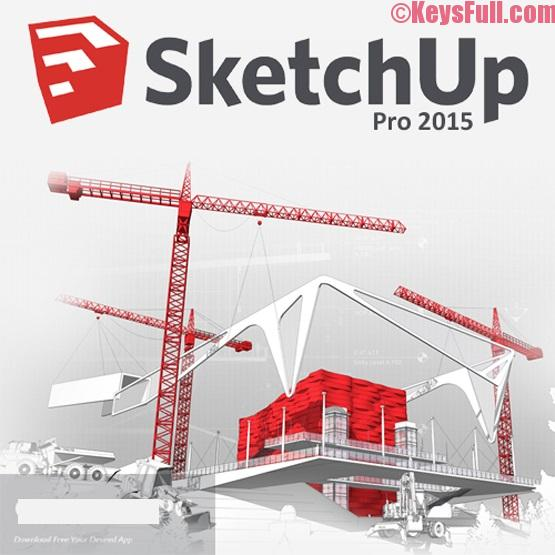 SketchUp Pro 2015 Crack, License Key Download