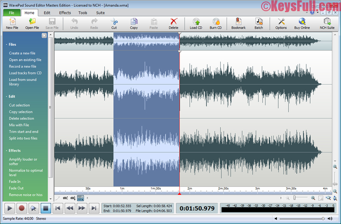 WavePad Sound Editor 6.55 Registration Code Incl Crack (1)