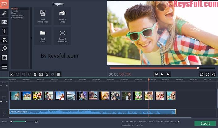 Movavi Video Editor 12.0 Crack Plus Activation Key
