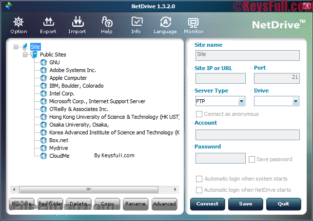 NetDrive 2.6 Serial Key With Crack Download