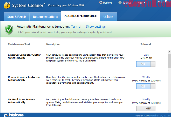 System Cleaner 7.6 Crack Incl Registration Key is Here!