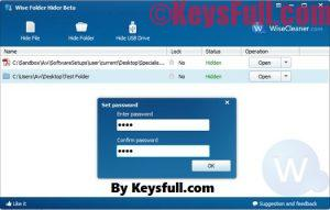 Wise Folder Hider 4.21 Pro Crack With Serial Key