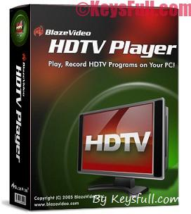 BlazeVideo HDTV player 6.6 Pro Crack+Serial+Keygen