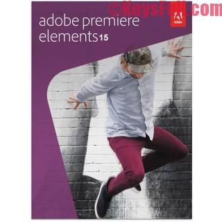 Adobe Premiere Elements 15.0 Crack & Keygen