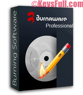 BurnAware Professional 9.5 Crack & License Key