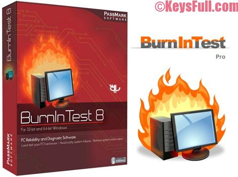 BurnInTest Professional 8.1 Crack Plus Serial Key