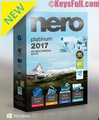 Nero 2018 Platinum Crack + Serial Key Free Download