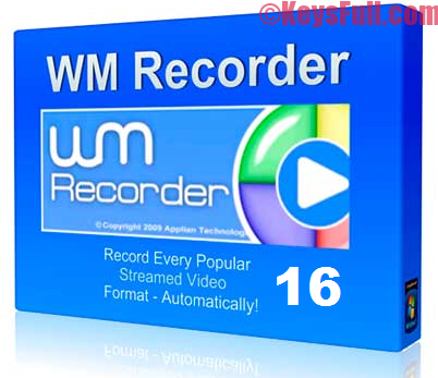 WM Recorder 16 Full Crack + Registration Code