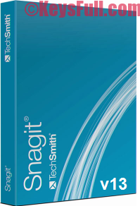 TechSmith Snagit v13.0 Pro Serial Key 2016 Available