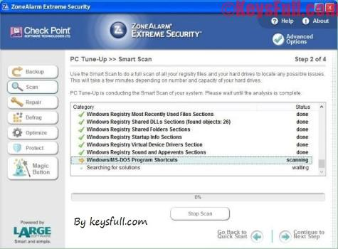 ZoneAlarm Extreme Security 2017 v15.0 Full Keygen