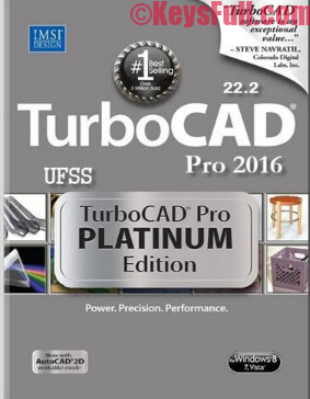 TurboCAD Pro Platinum 2016 Crack Plus Keygen