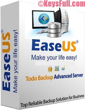 EaseUS Todo Backup Advanced Server 10.5 Crack + Keygen