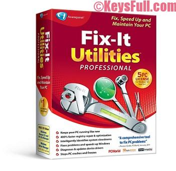 Fix-it Utilities Professional 15 Crack Incl Serial Key