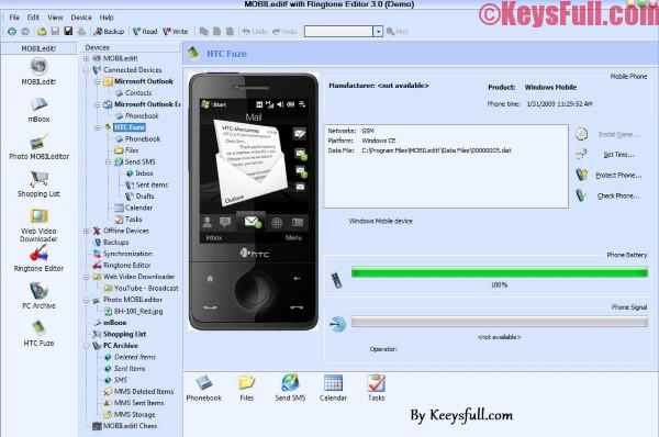 MOBILedit! 8.7.1 Full Activation Key Free Download