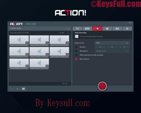 Mirillis Action! 2.0 Crack & Serial Key 2017 Download