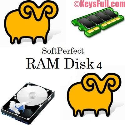 SoftPerfect RAM Disk 4.0.0 Crack Free Download
