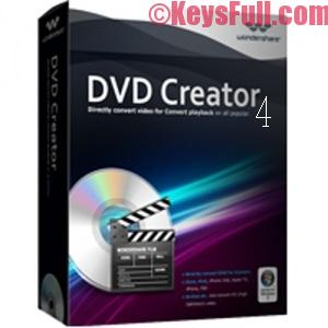 Wondershare DVD Creator 5 Crack Incl Registration Code