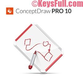 ConceptDraw PRO 10 Crack + Full Serial
