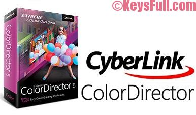 CyberLink ColorDirector 5 Crack Free Download