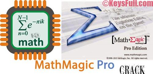 MathMagic Pro Edition 8.3 Crack + Keygen