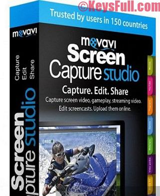 Movavi Screen Capture Studio 10.0 Activation Key Plus Crack