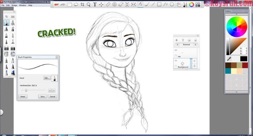 Autodesk SketchBook 8.3.1 Full Version With Crack