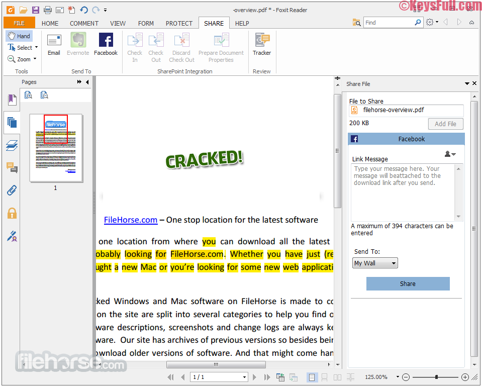 Foxit Reader 8.2 Full Crack Download Here!