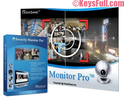 Security Monitor Pro 5.43 Crack & Serial Number 2017
