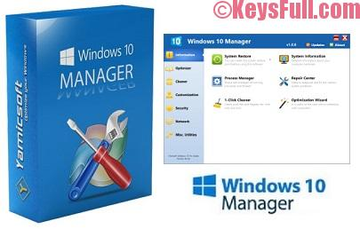 Yamicsoft Windows 10 Manager 2.2.5 Final Crack