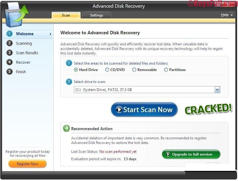 Advanced Disk Recovery 2.6 Full Crack + Key