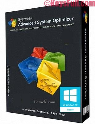 Advanced System Optimizer 3.9 Crack Registration Key