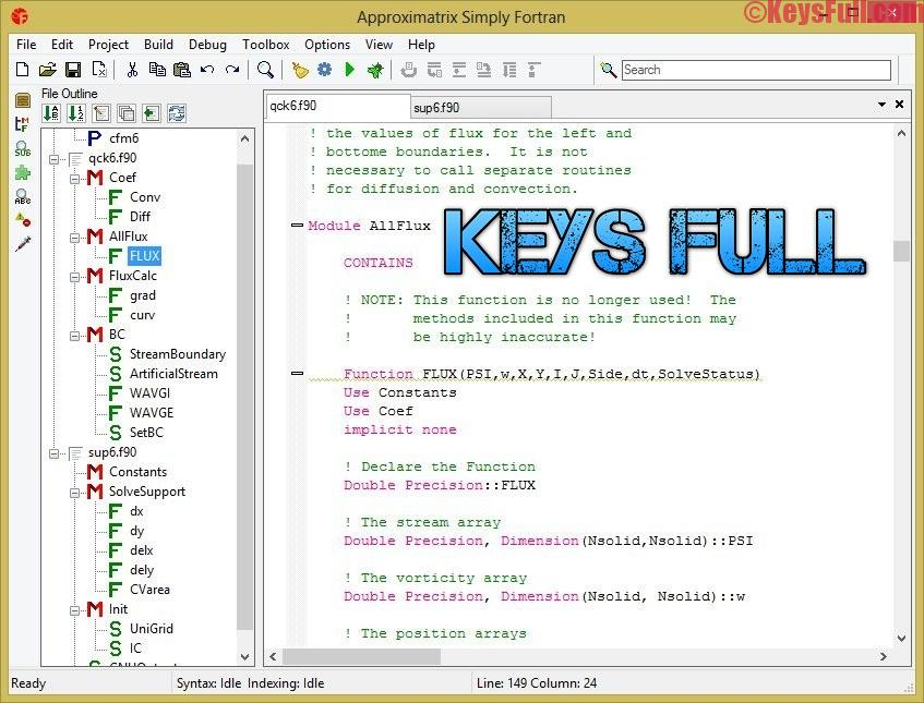 Approximatrix Simply Fortran 2.35 + Crack Download