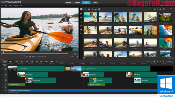 Corel VideoStudio Ultimate X10 Crack + Key + Keygen
