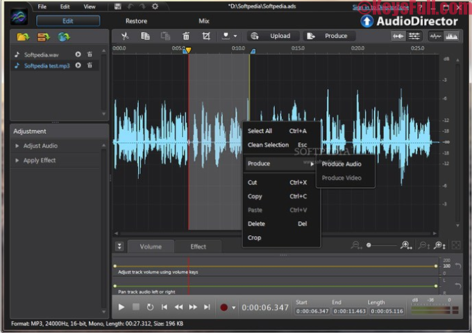 CyberLink AudioDirector Ultra 7.0.7 Full Version Plus Crack