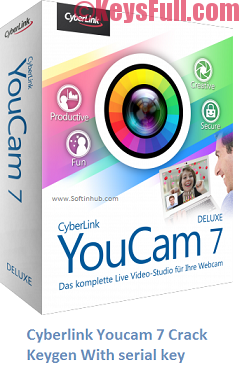 CyberLink YouCam 7.0 Crack With Product Key