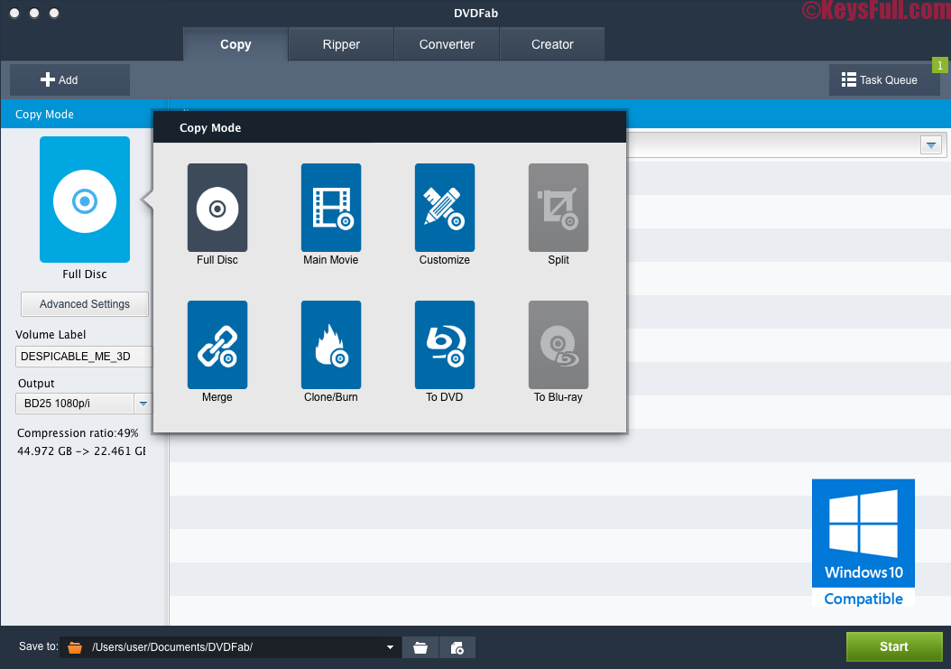 DVDFab Copy Suite 10.0.2.1 Pro Crack Keygen