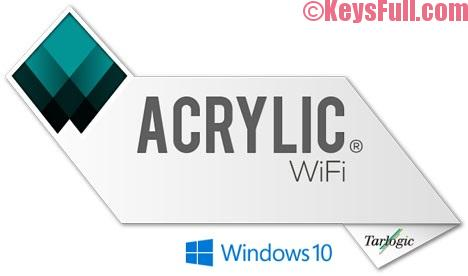 Acrylic Wi-Fi Professional 3.1.6 Full + Crack Free Download