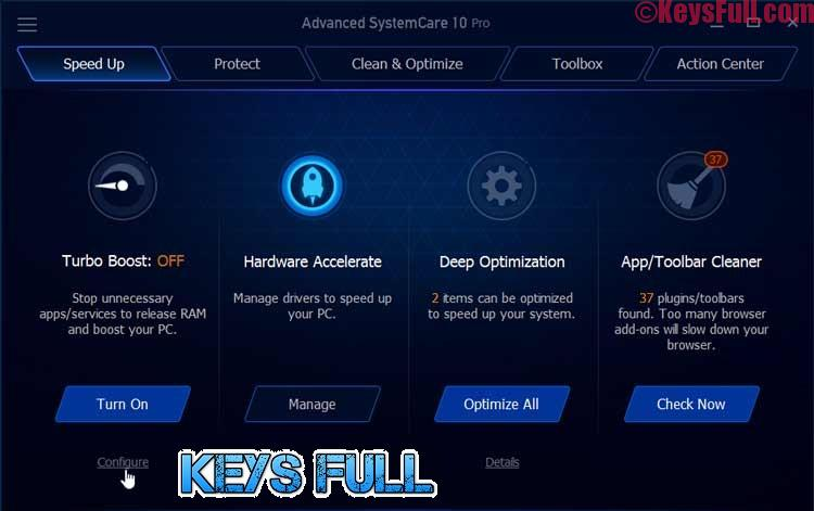 Advanced SystemCare Pro 10.2.0 Serial Key 2017 Here!