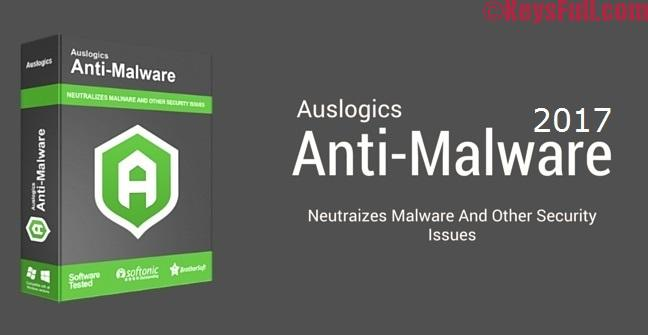 Auslogics Anti-Malware 2017 1.9.2.0 Activation Key is Here!