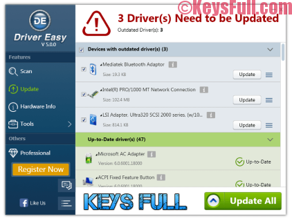 DriverEasy 5.5.0 Pro Crack + Serial Key Portable is Here!